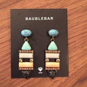 BaubleBar Nazarie drop earrings